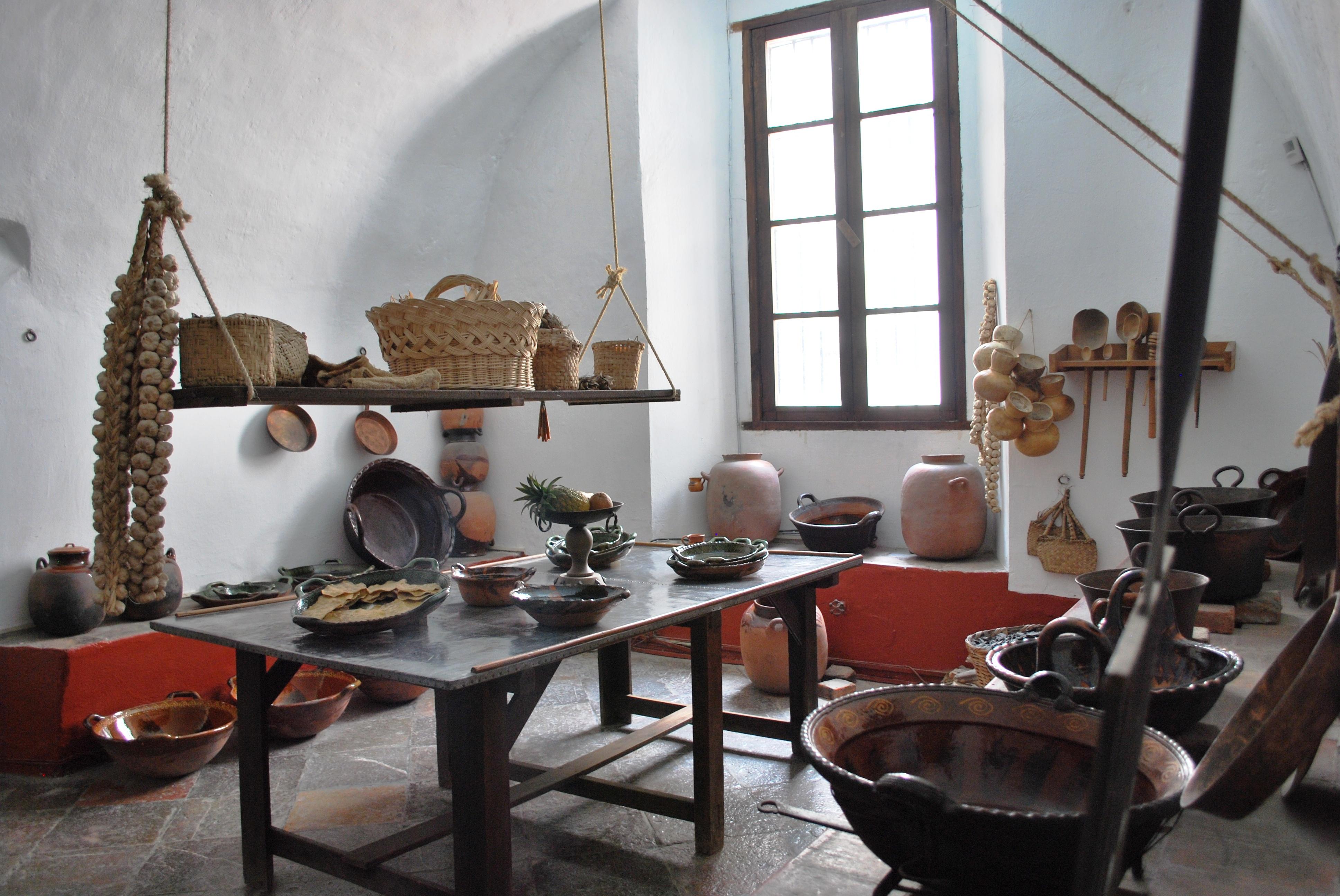 Mexican cuisine - Fotos de cocinas antiguas ...