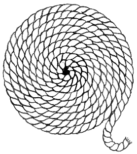 Rope coil (Pearson Scott Foresman, donated to the Wikimedia Foundation)