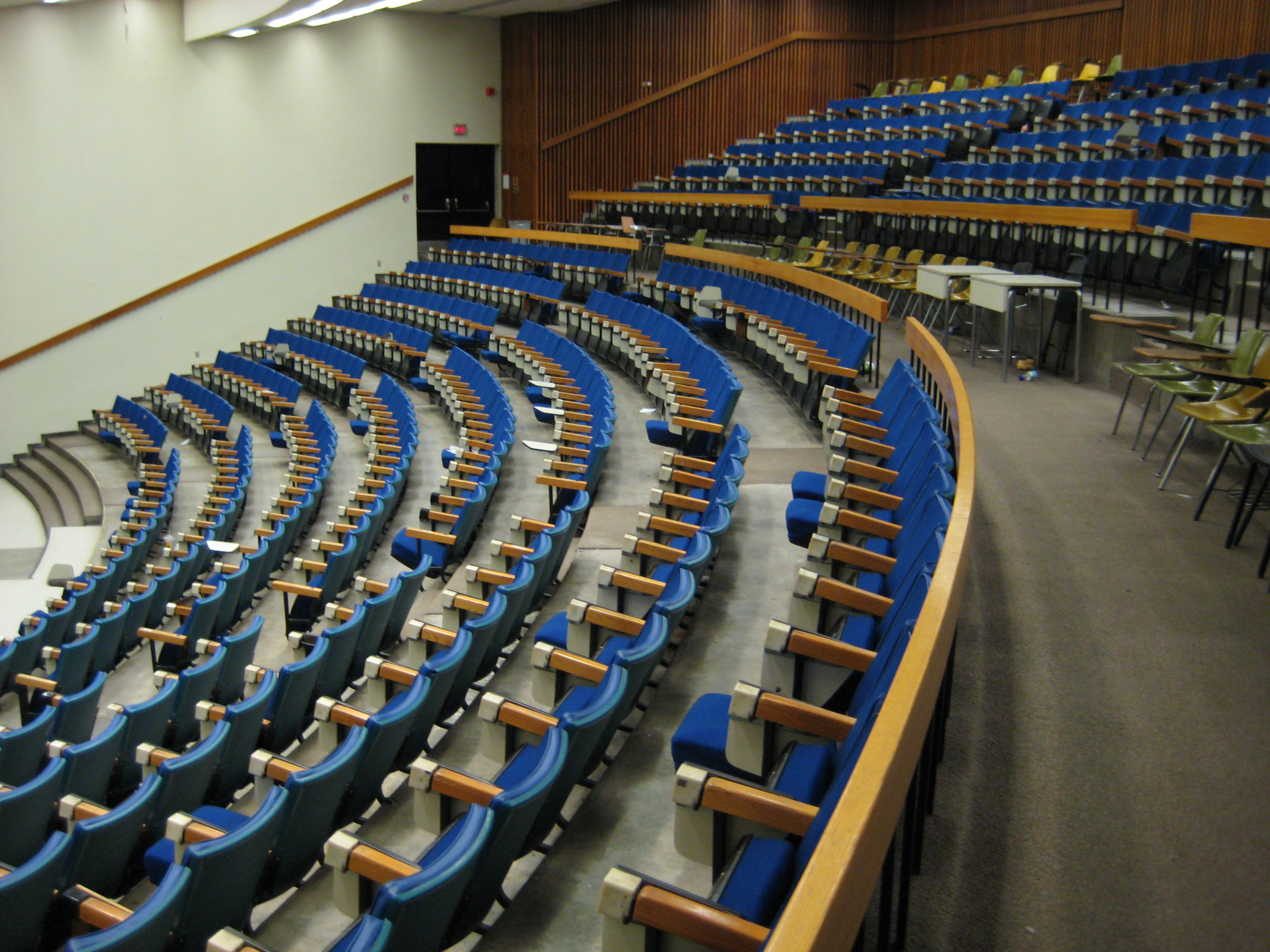 York university curtis lecture hall