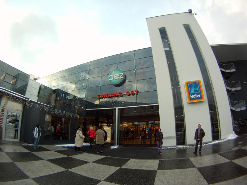Dez Einkaufszentrum Regensburg