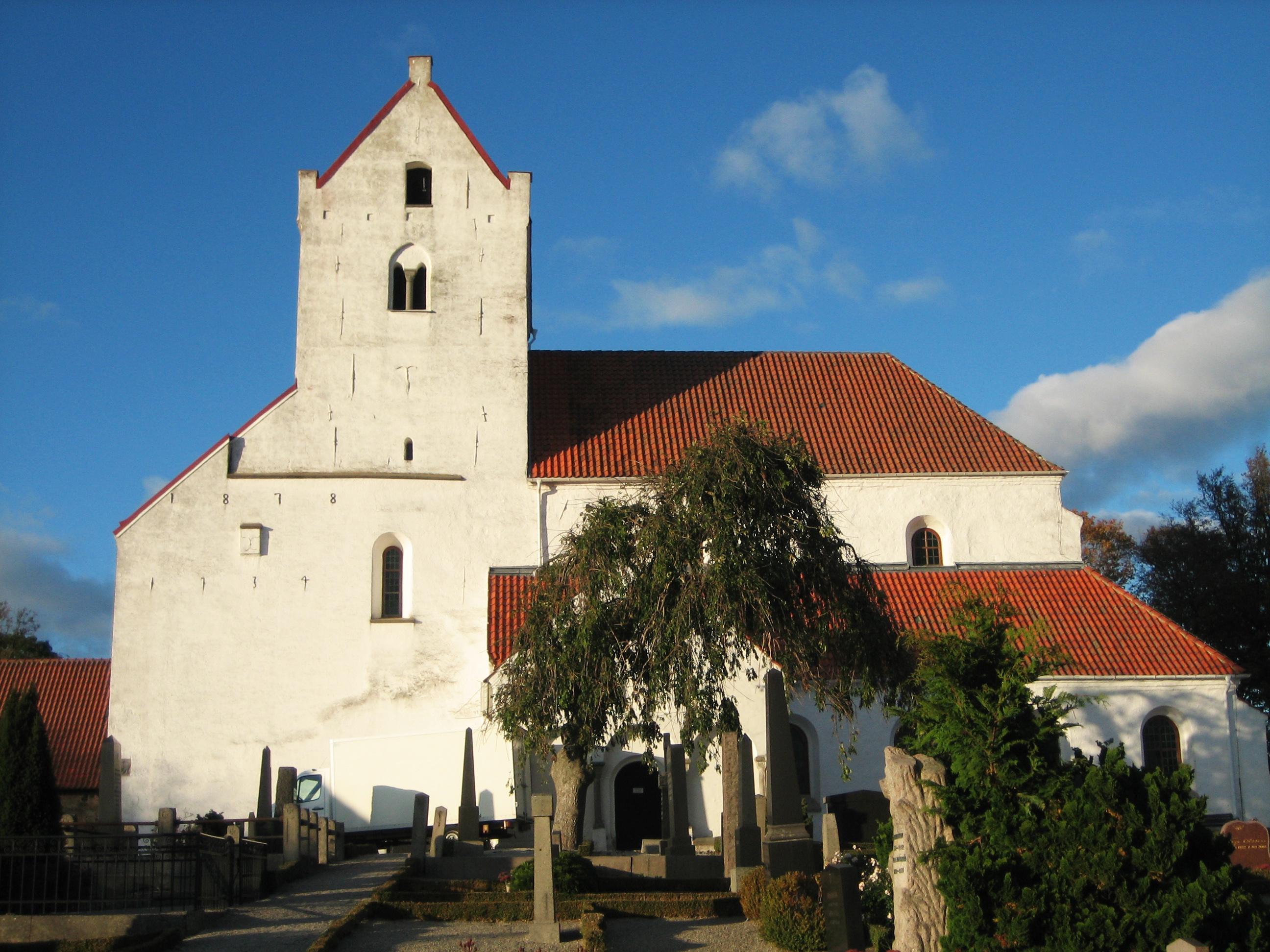 Bild av Dalby kyrka