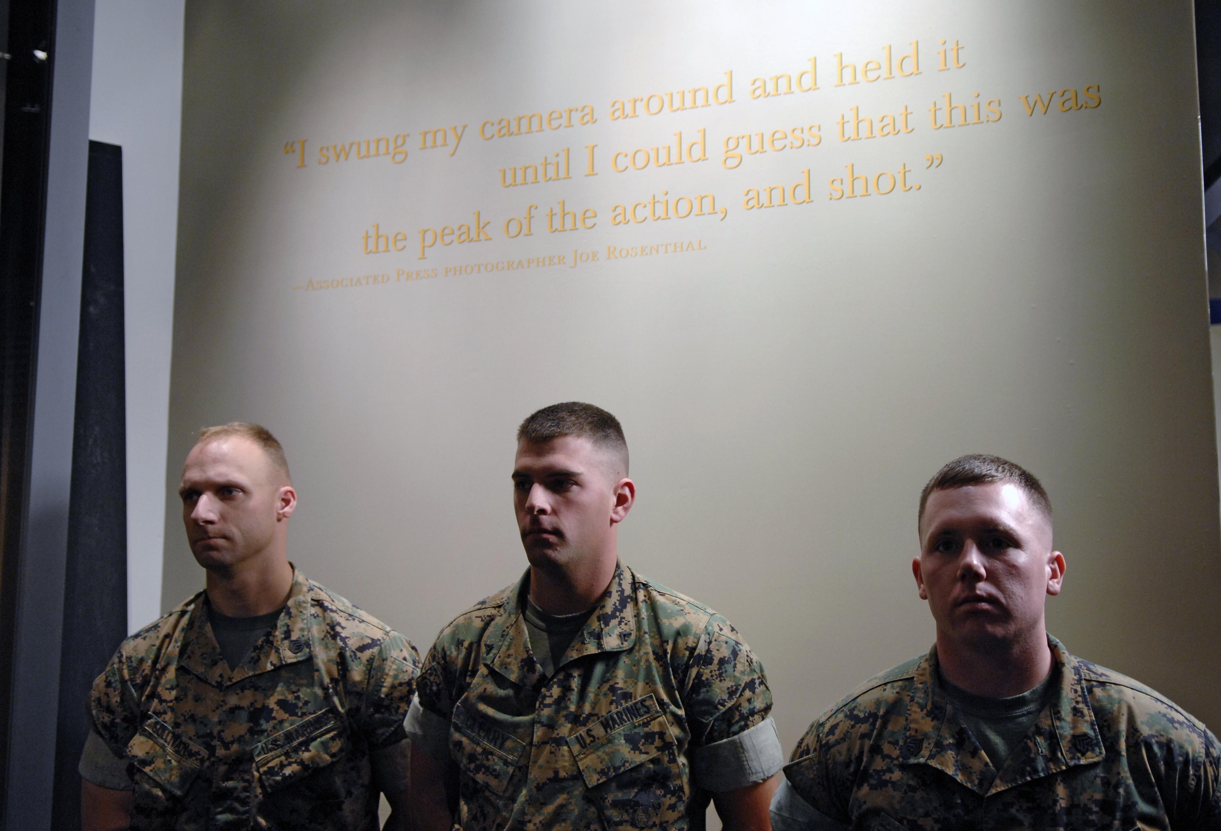 Marines at Iwo Jima Essay Sample