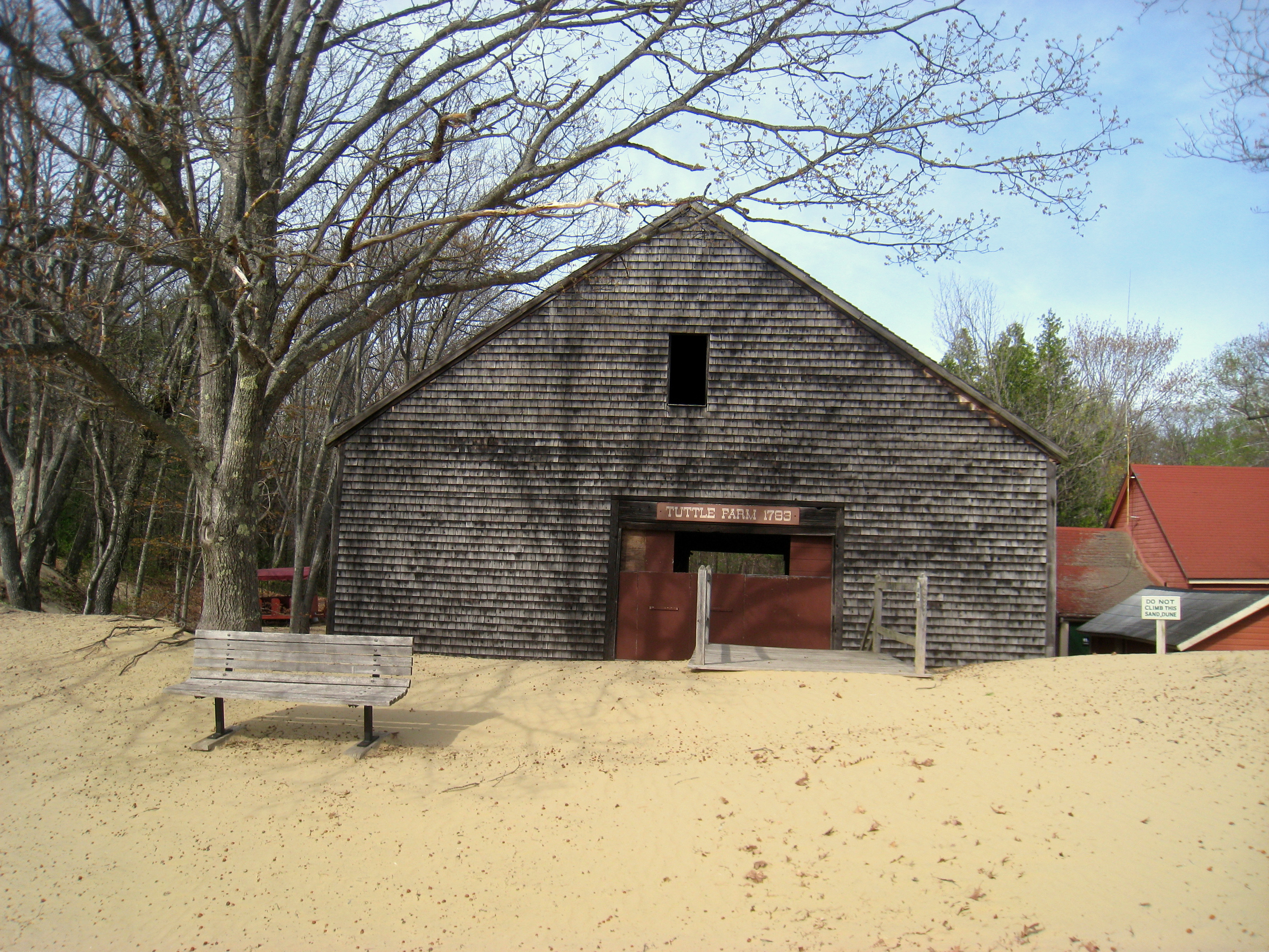 u201cThis barn Why is there a