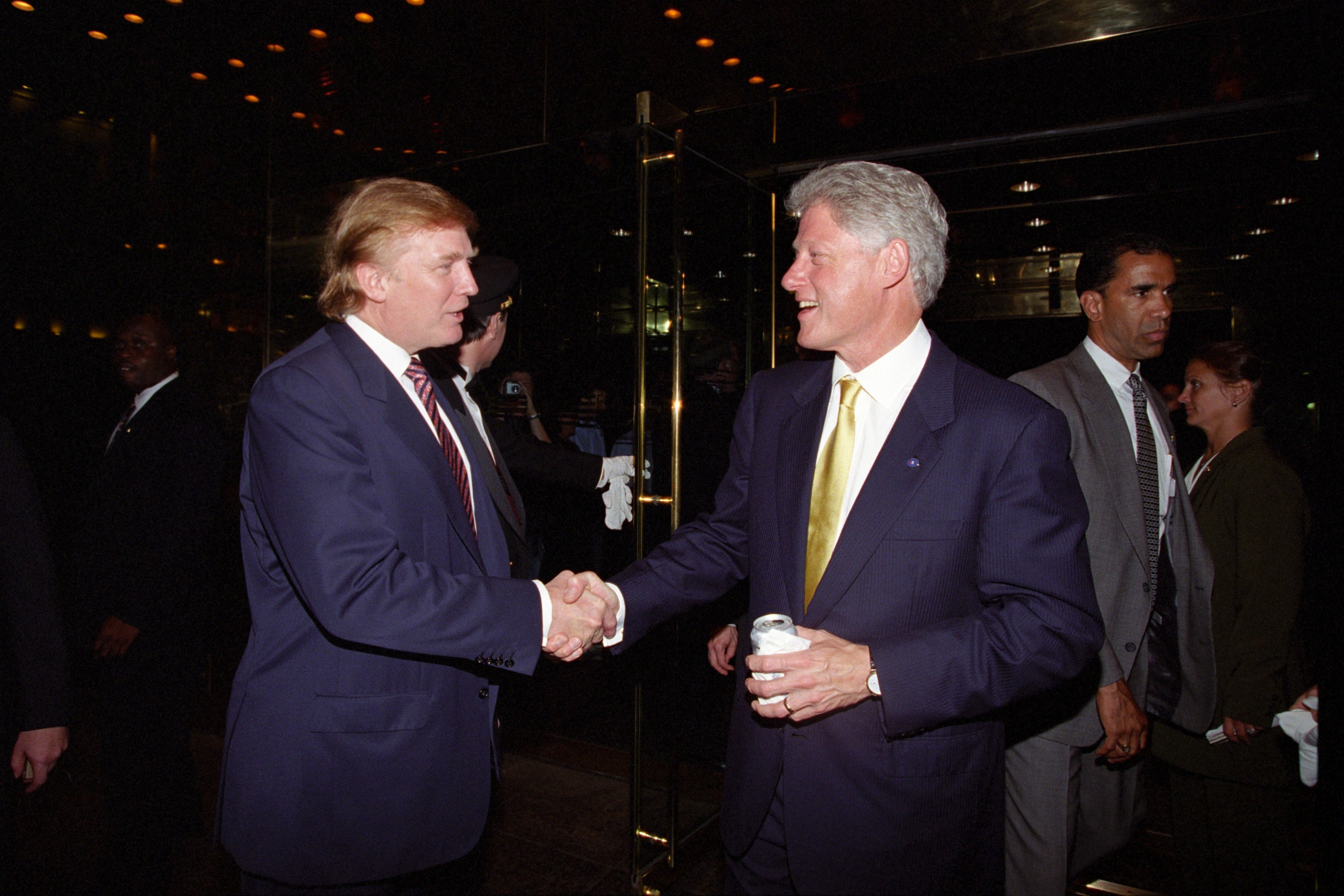 Donald Trump and Bill Clinton.jpg