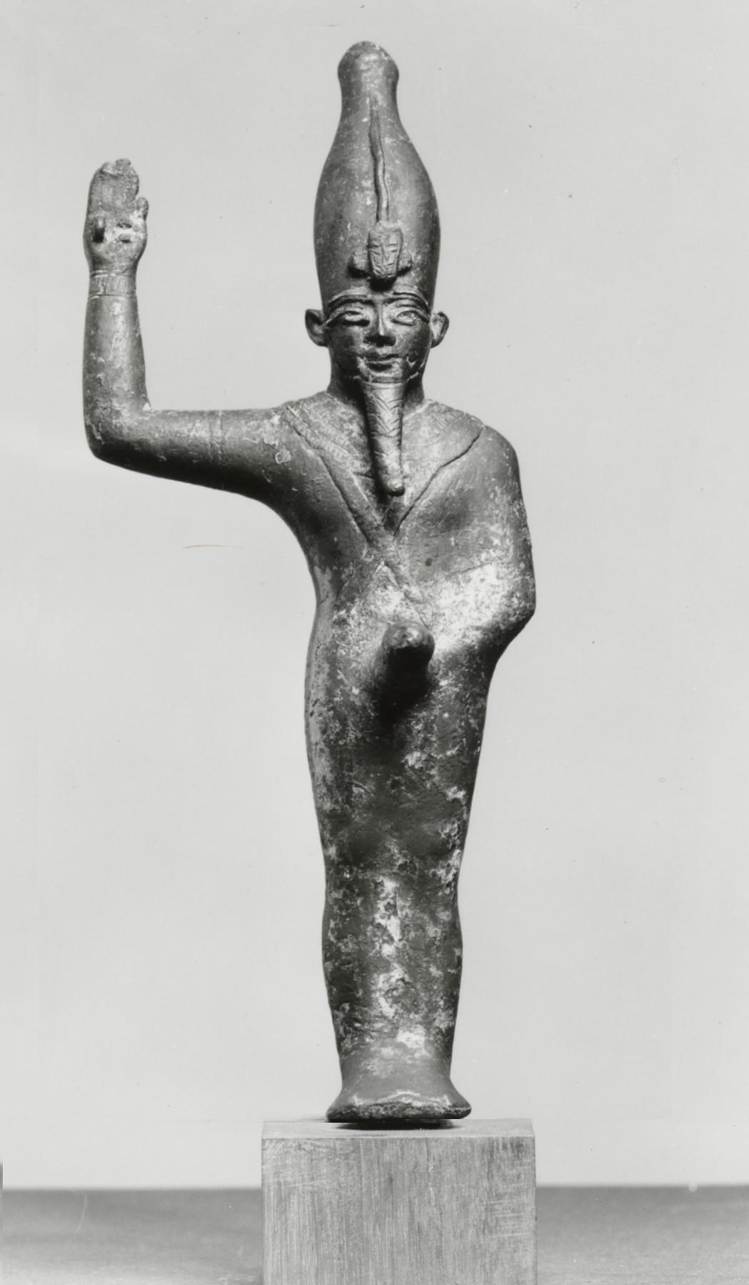 Egyptian Amun Min Kamutef Walters Mut Wikipedia
