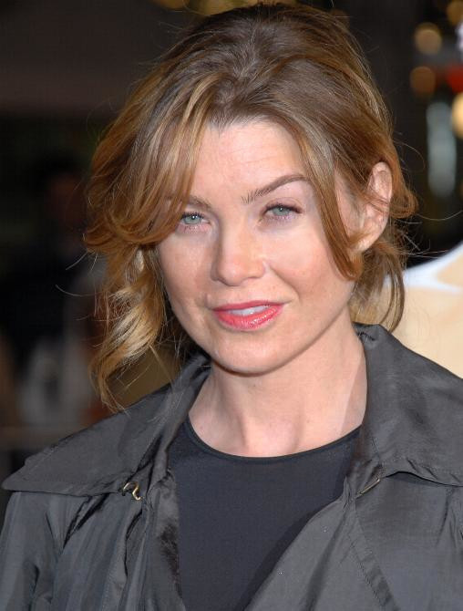 Ellen Pompeo during the premiere of 27 Dresses in 2008