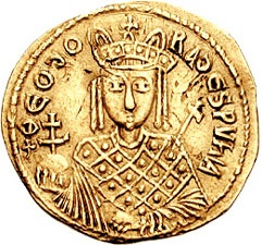 File:Empress Theodora (wife of Theophilos).jpg