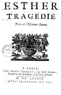 Édition originale, 1689