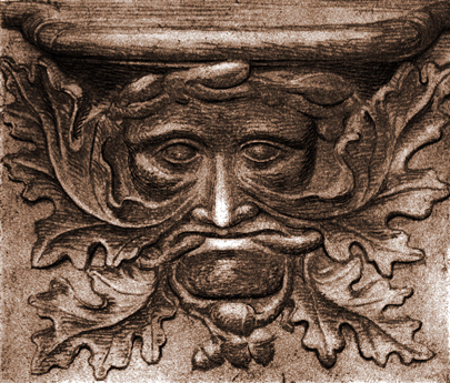 An image of a Green Man.