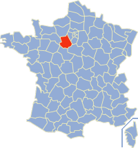 Karinan ning Eure-et-Loir king France