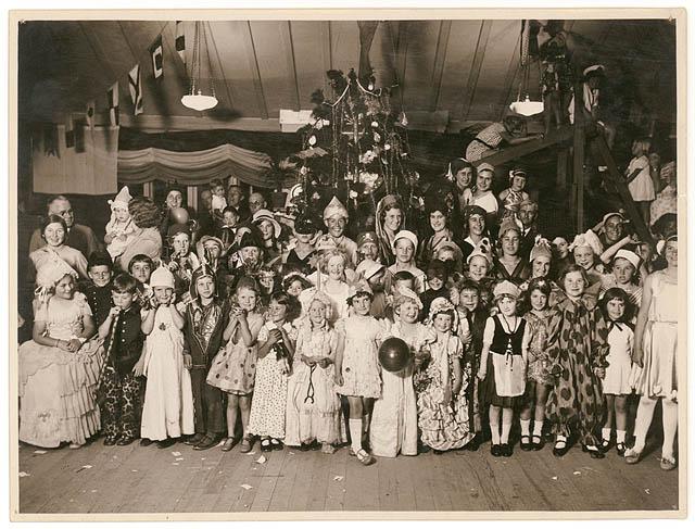 Fancy dress Christmas party, n.d. - by Sam Hood (3081697760)