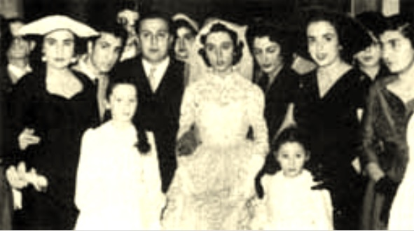 ملف:Fayrouz and Assi Rahbani on wedding day.jpg
