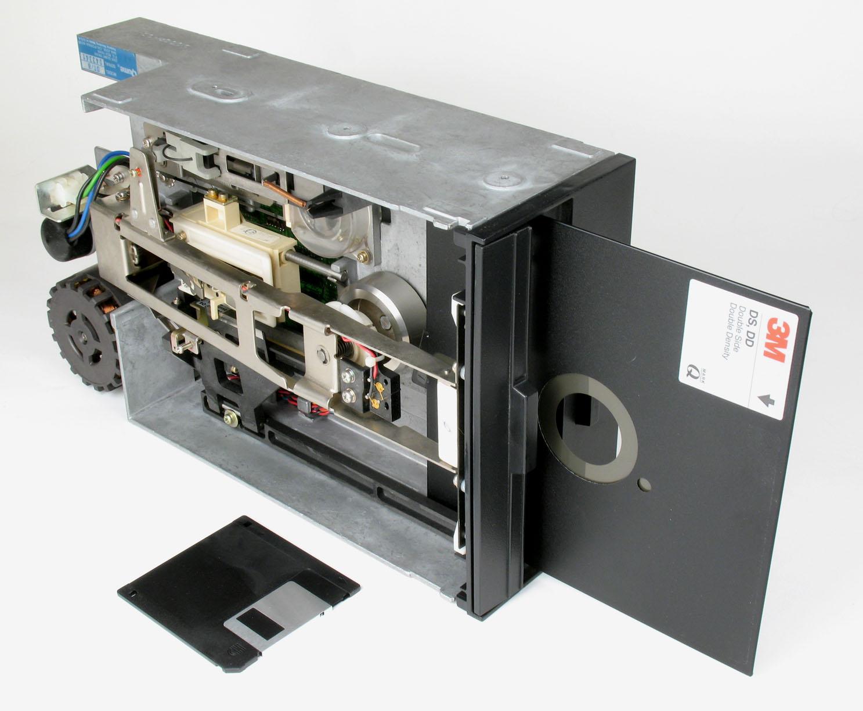 Que nostalgia tan HP Floppy_Disk_Drive_8_inch