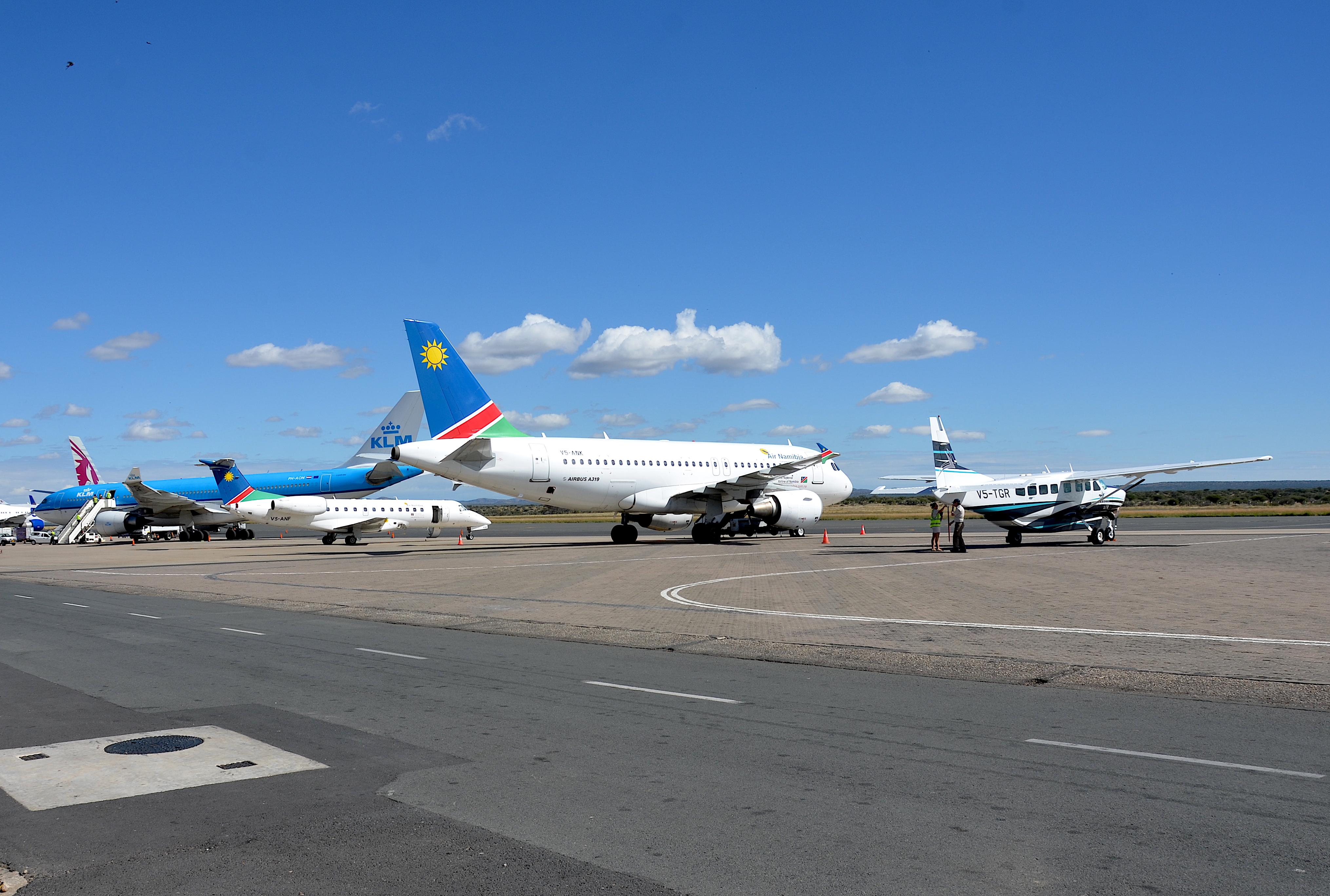 Flughafen Windhoek Abflug