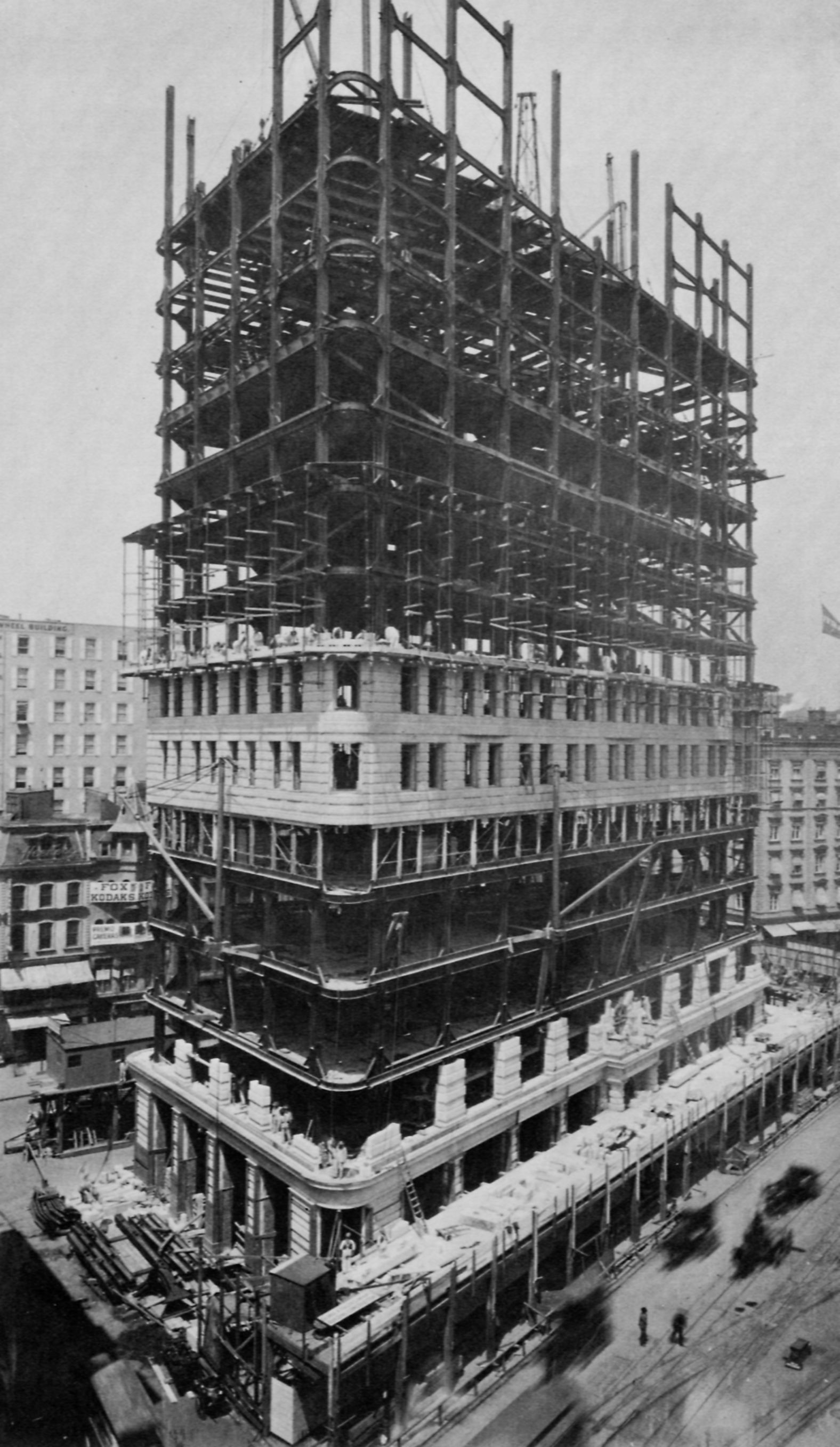 Under construction flatiron fuller building for Insurance for home under construction