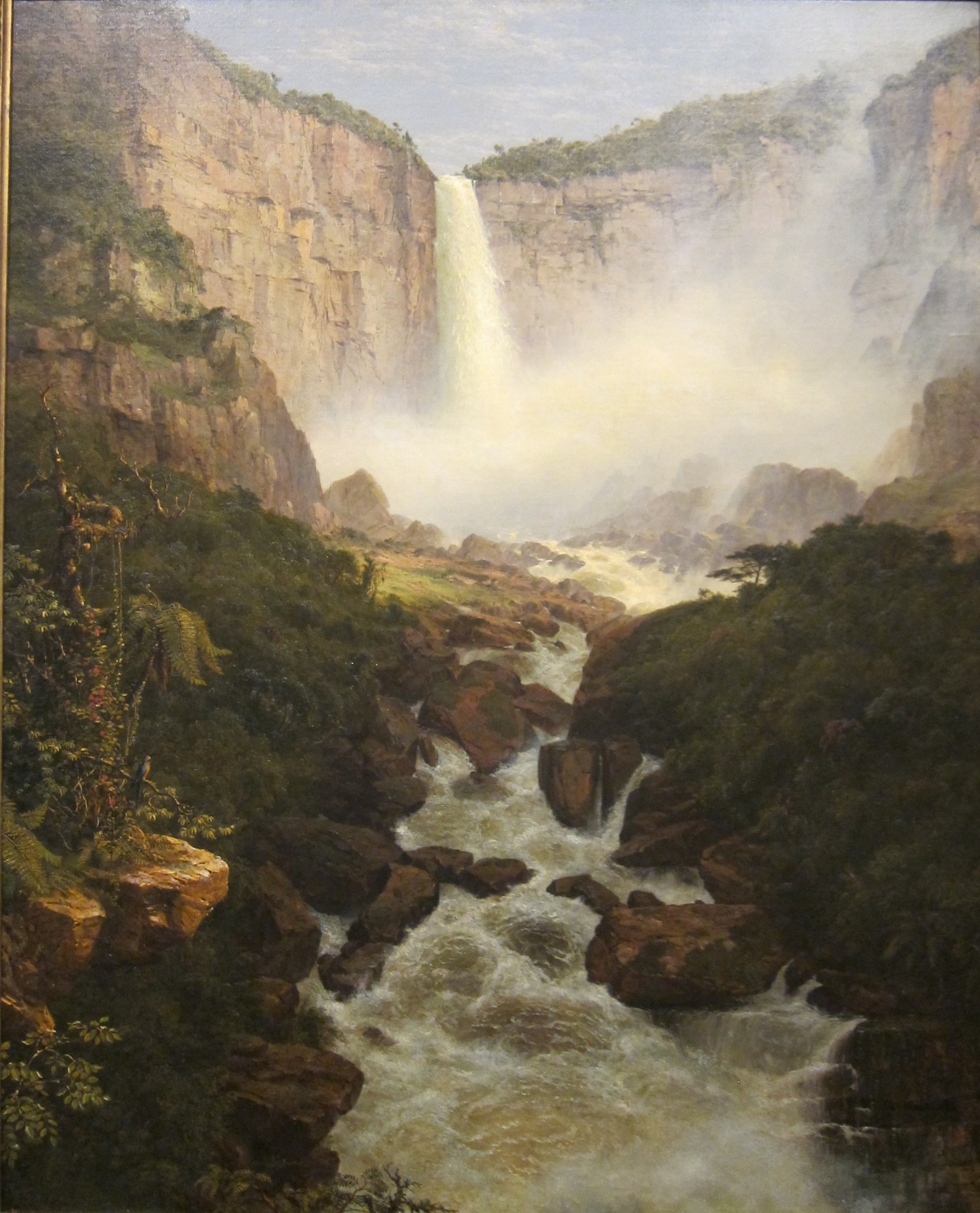 File frederic edwin church tequendama falls near bogota for Frederick church paintings