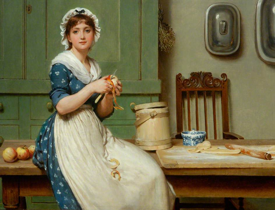 https://upload.wikimedia.org/wikipedia/commons/8/88/George_Dunlop_Leslie_-_Apple_Dumplings.jpg