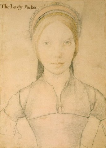 Grace, Lady Parker? by Hans Holbein the Younger