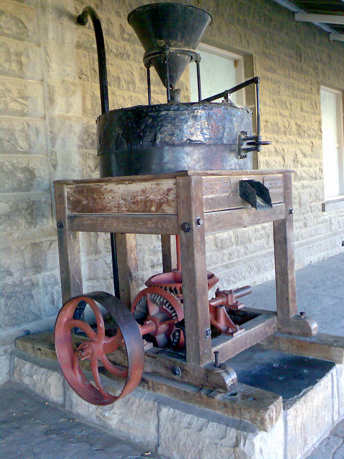 File Grain Mill At Dordrecht Eastern Cape Jpg Wikimedia