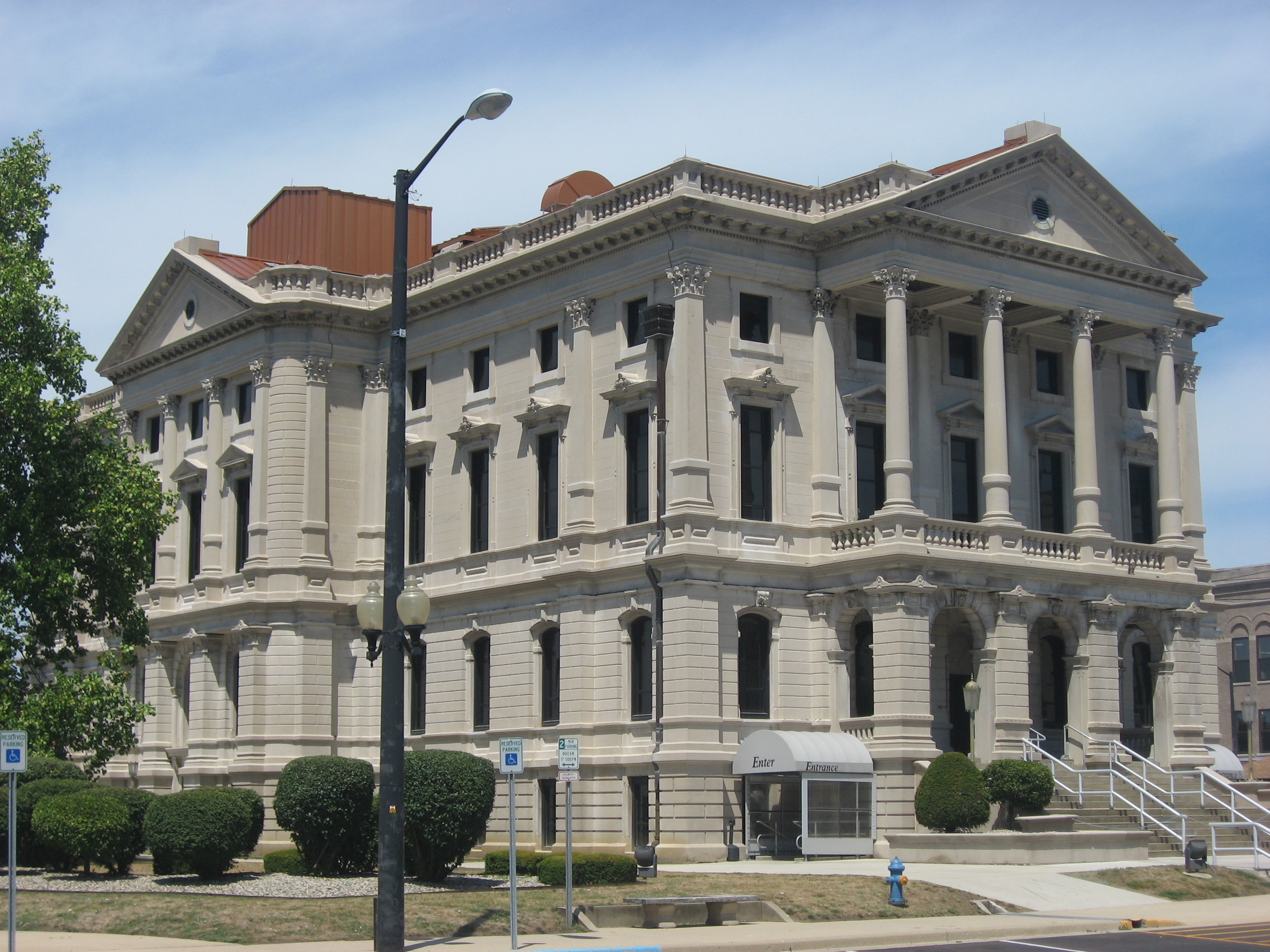 File Grant County Courthouse In Marion Jpg Wikimedia Commons