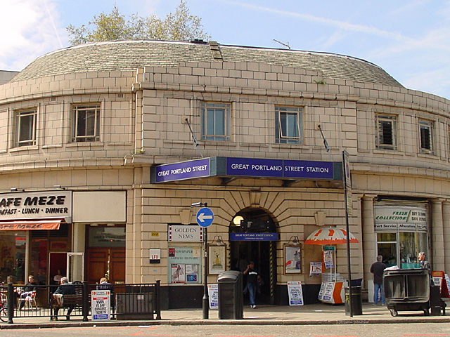 Great Portland Street tube station
