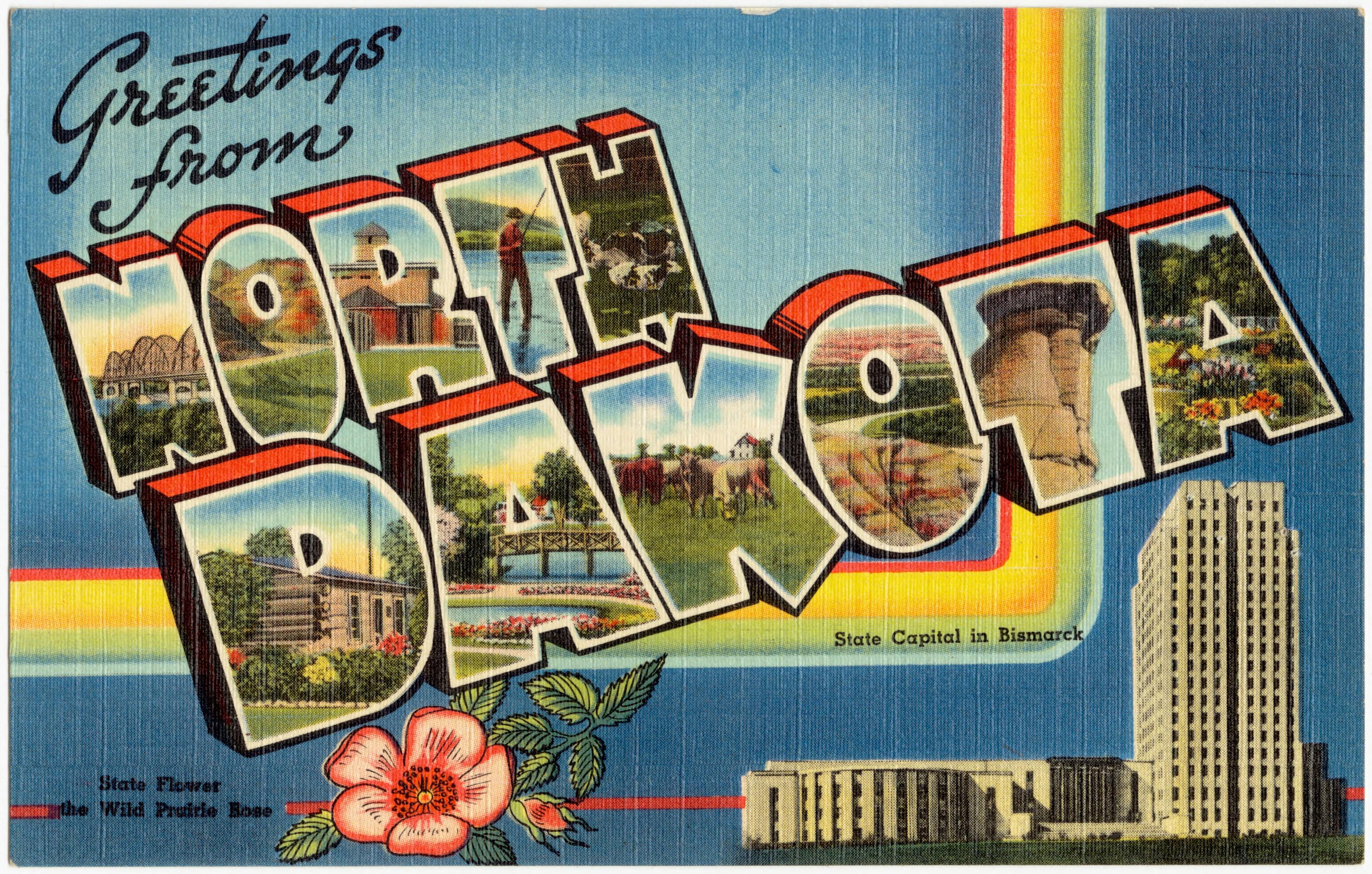 Filegreetings From North Dakota 72659g Wikimedia Commons