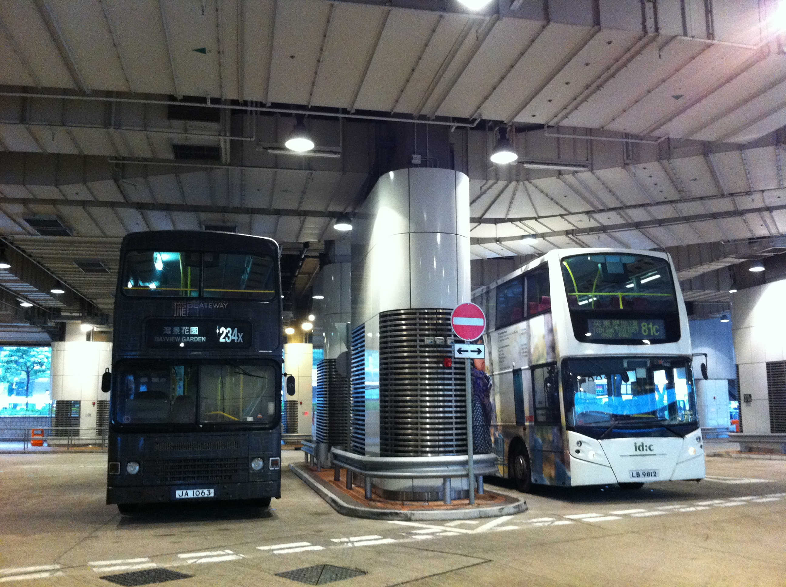 File:HK TST East Mody Road Bus Terminus interior Double ...