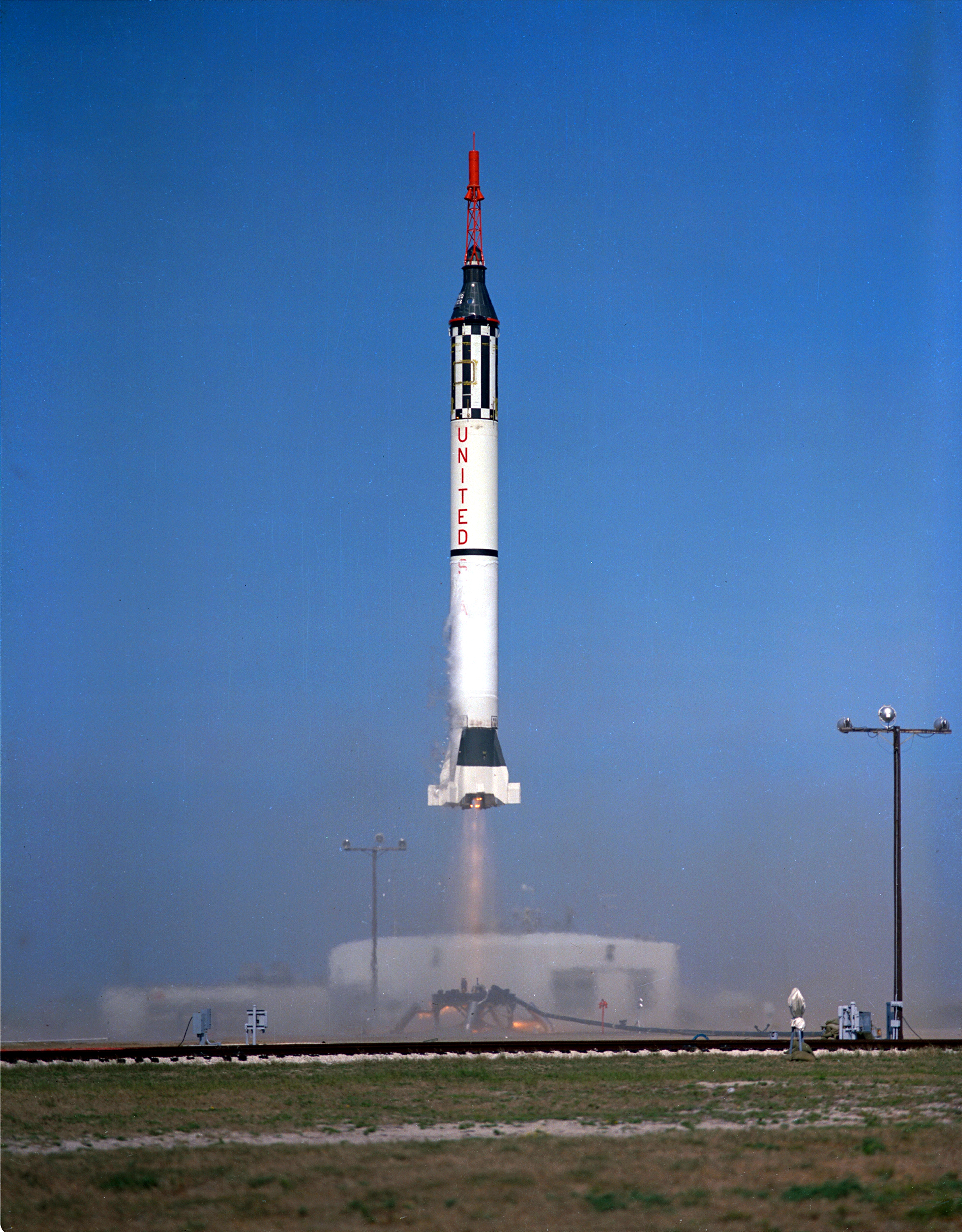 Launching Of The Mercury-redstone 3 Photograph by Stocktrek Images