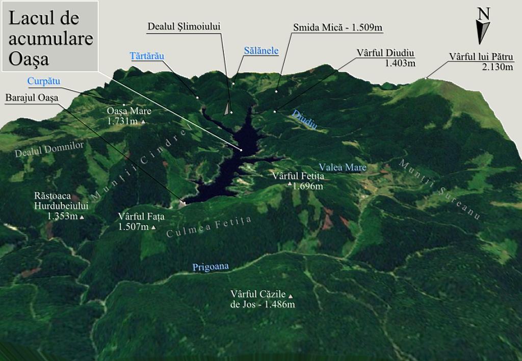 File Harta 3d Pentru Lacul De Acumulare Oasa Romania Jpg