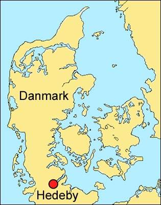 kart av danmark Hedeby – Wikipedia kart av danmark