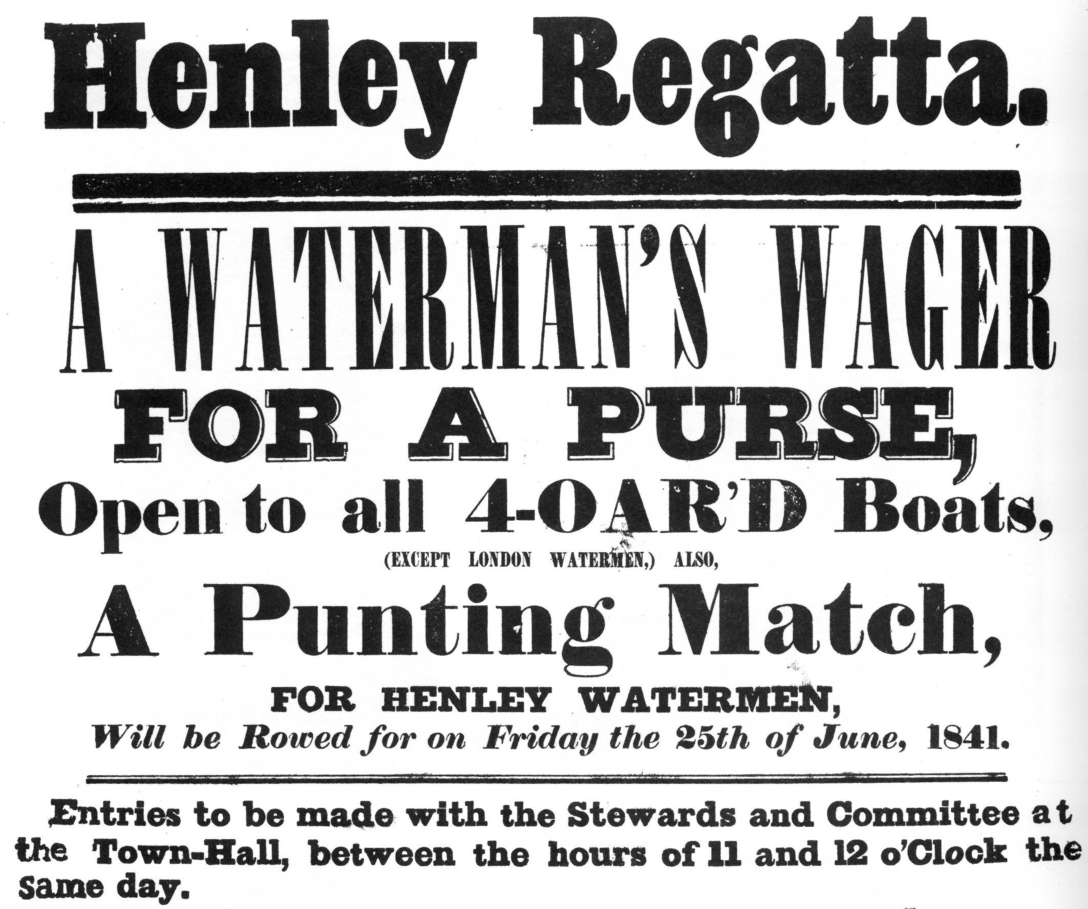 All following user names refer to en.wikibooks. 2008-01-13 09:27 Wat Bradford 2125×1775× (750777 bytes) Henley Regatta Watermen's Wager poster, 1841