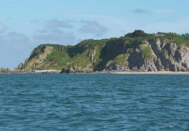 High Cliff, Caldey Island (Ynys Bŷr) - geograph.org.uk - 958214