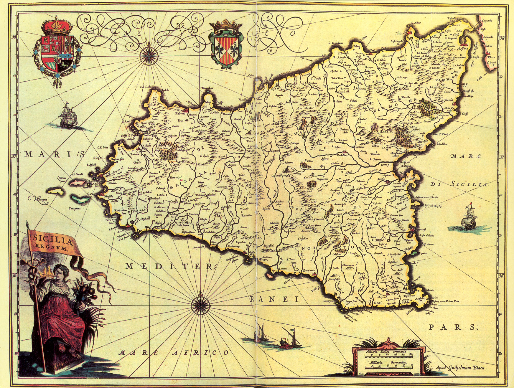 Atlas of Sicily Wikimedia mons