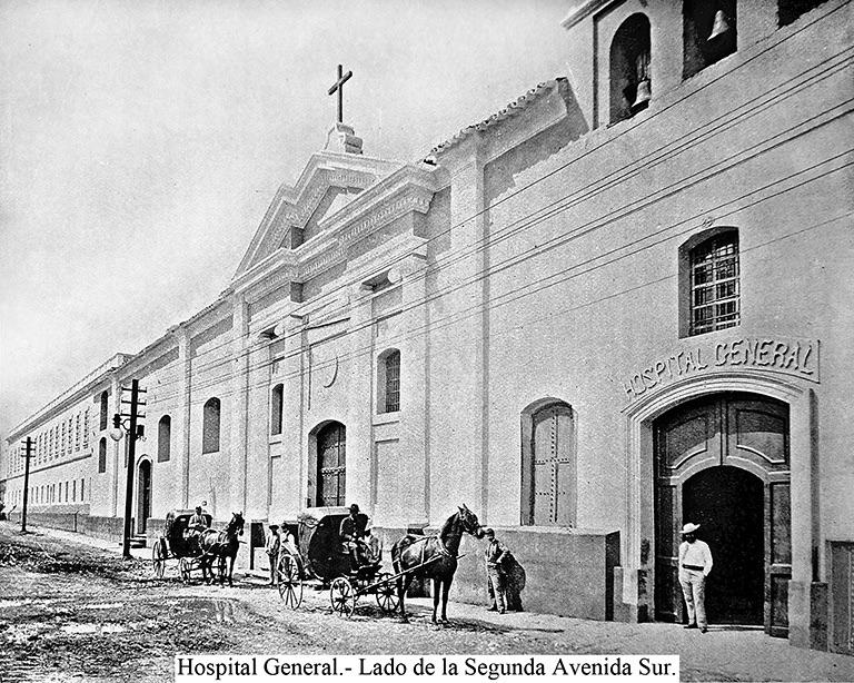 Hospital General en 1900