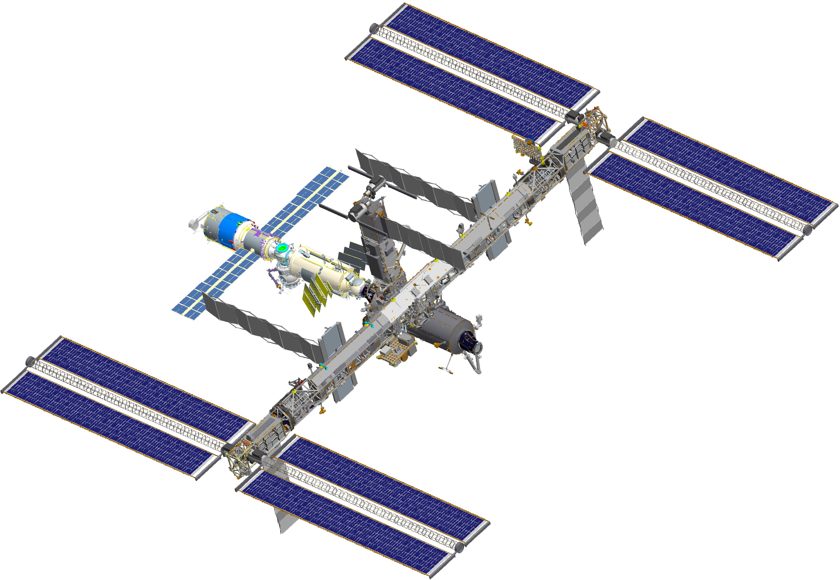 File:ISS after STS-118 (computer rendering of August 2006