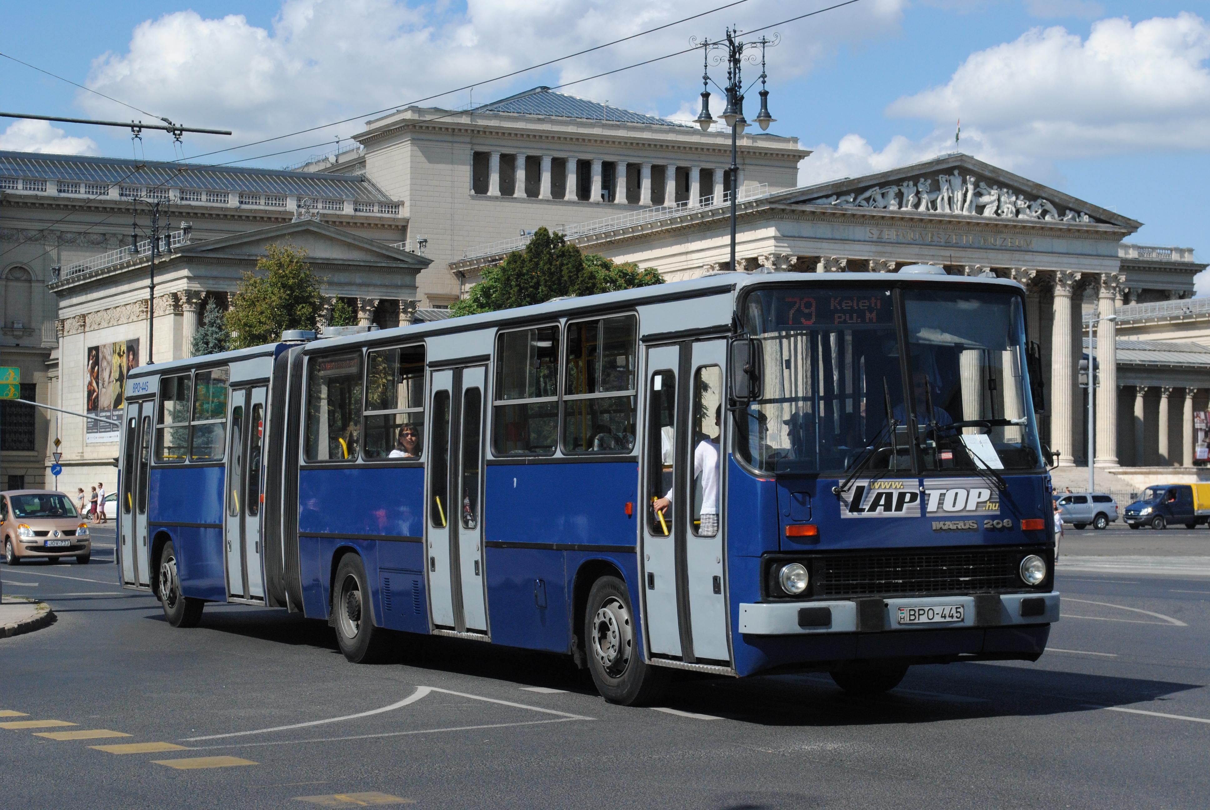 Fileikarus 280 Budapest Bpo 445 Line 79jpg Wikimedia Commons