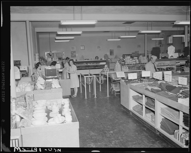 File Interior of pany store Pittsburgh Coal pany Westland