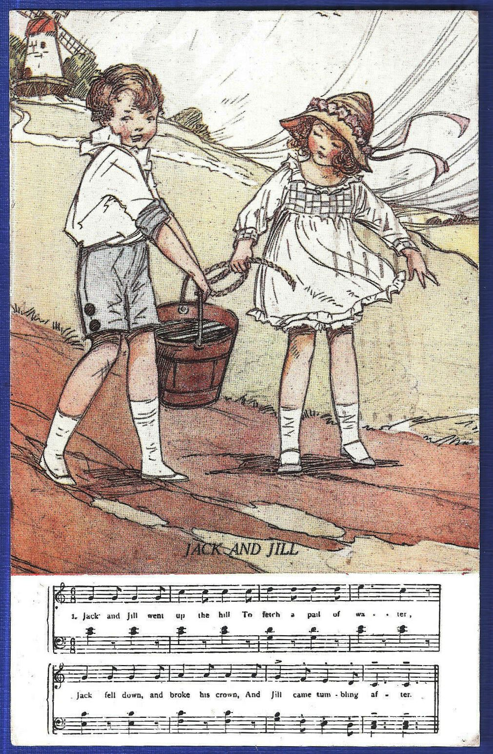 Jack And Jill Nursery Rhyme Wikipedia