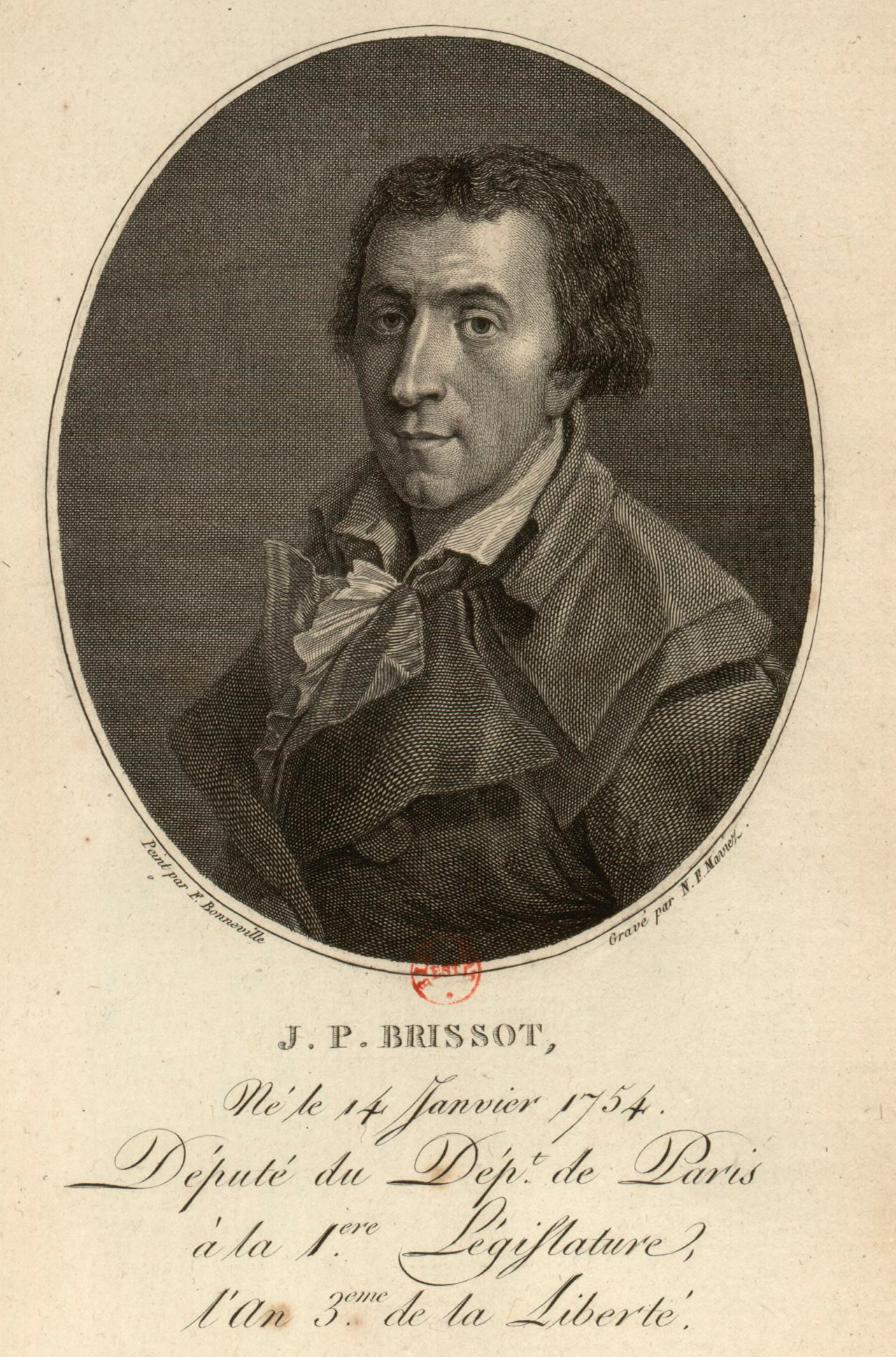 Jacques Pierre Brissot.