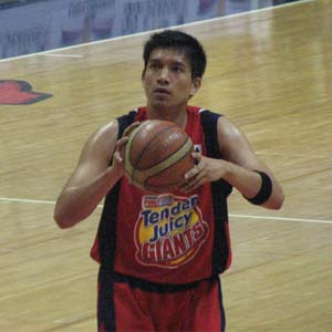 James Yap, the main man for Purefoods Tender J...