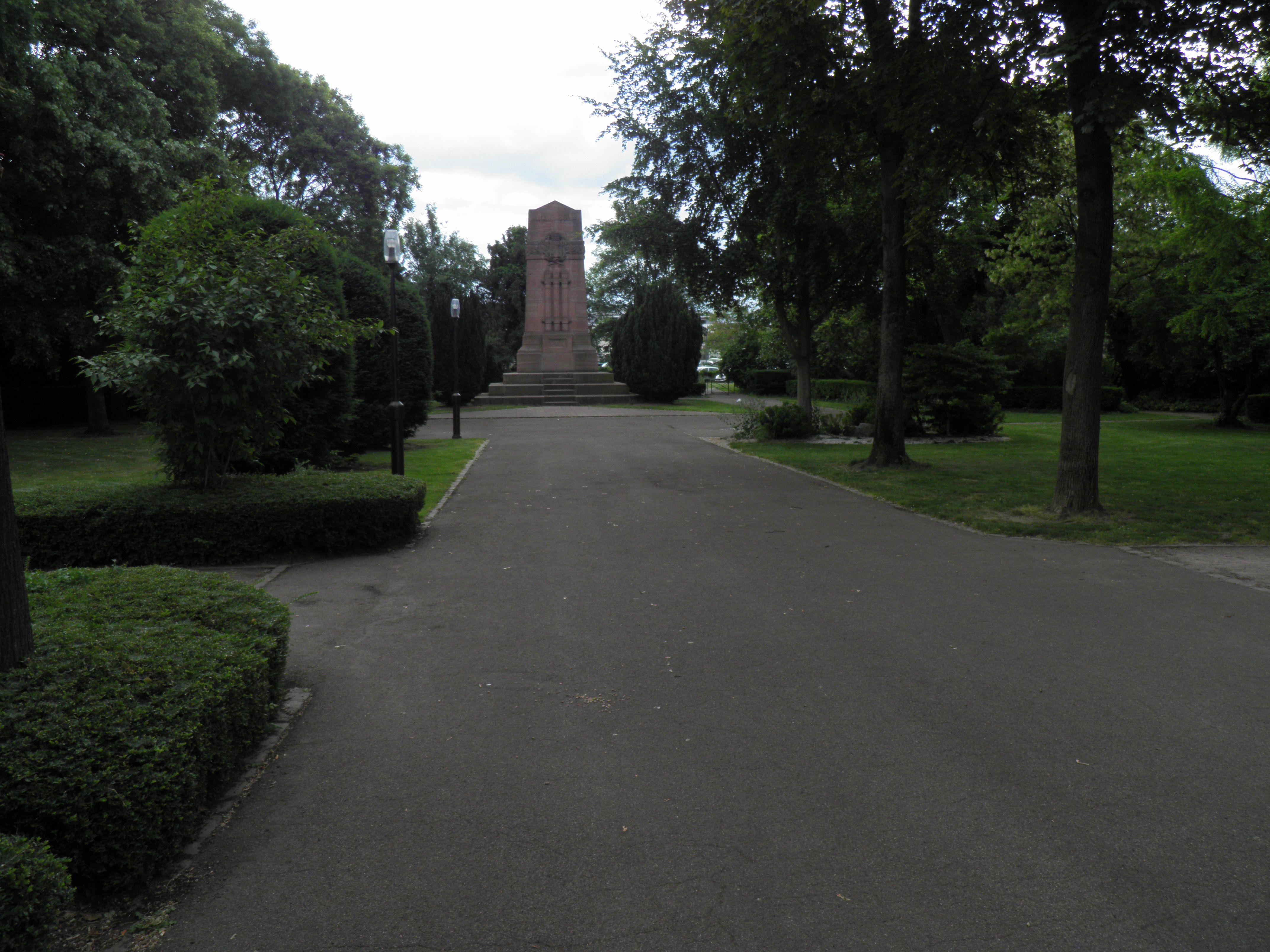 File Jardin du souvenir fran§ais Colmar 1 JPG Wikimedia mons