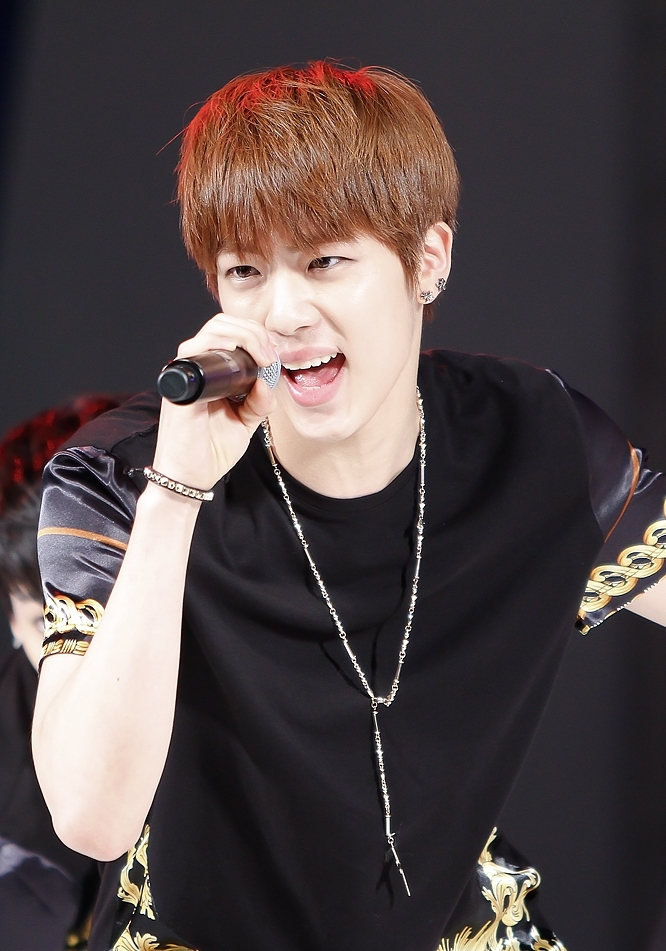 file jin kim seok jin at the jeonju vivid rock festival in august