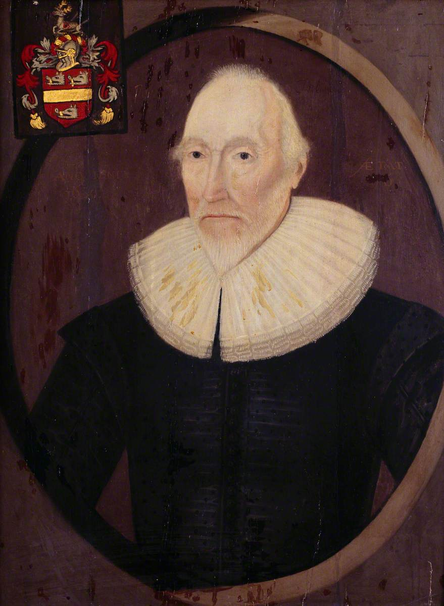 John Thelwall (1533–1630) by Gilbert Jackson; kept at NLW.jpg