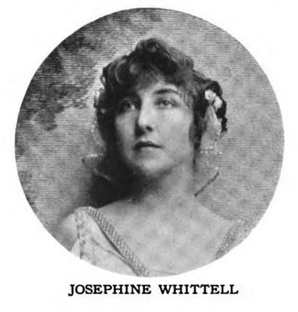 Josephine Whittell from a 1916 publication.