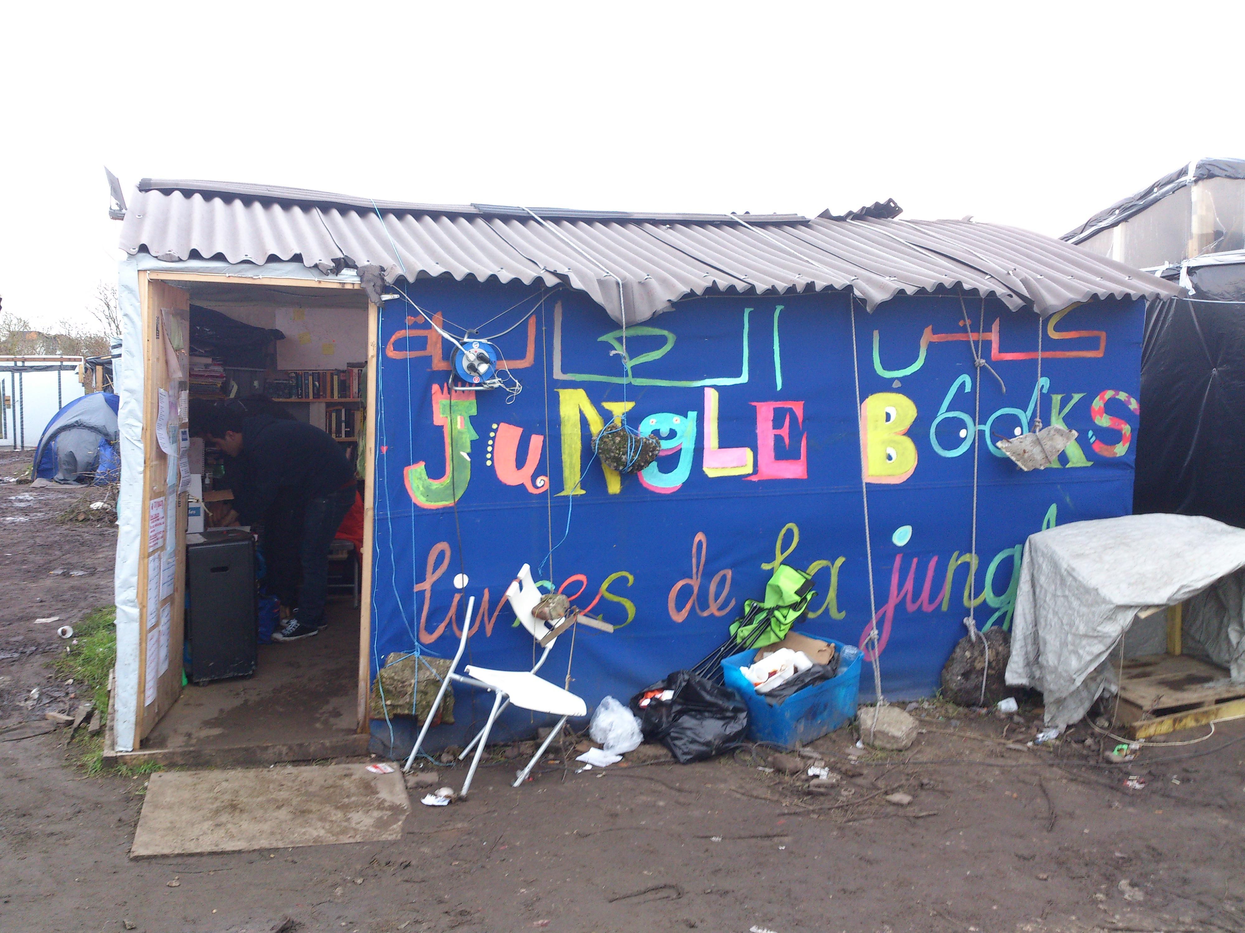Calais Jungle - Wikipedia