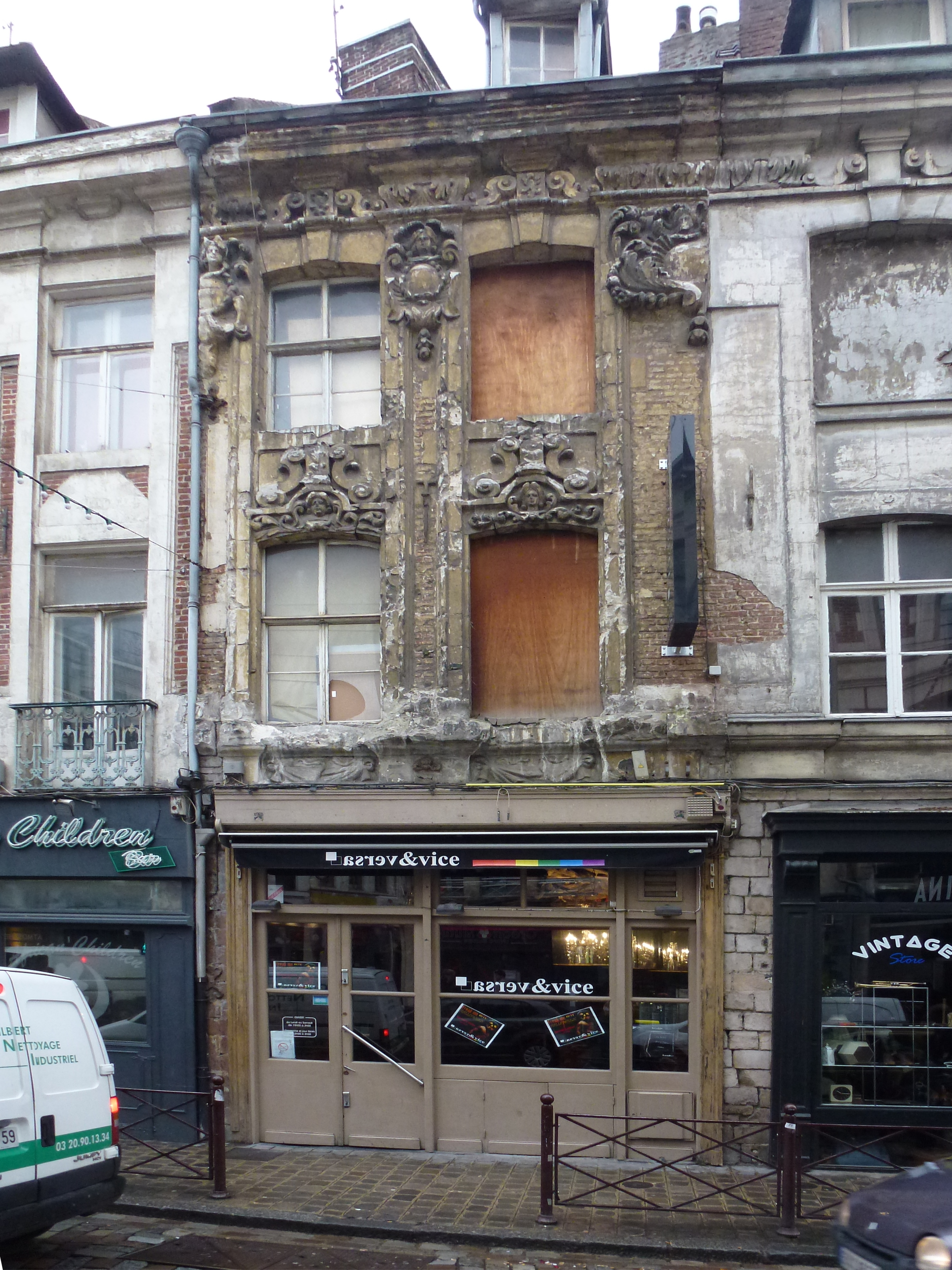 File lille maison 3 rue de la barre pa00107673 jpg for 82 rue brule maison lille