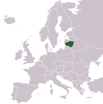 Litauen in Europa