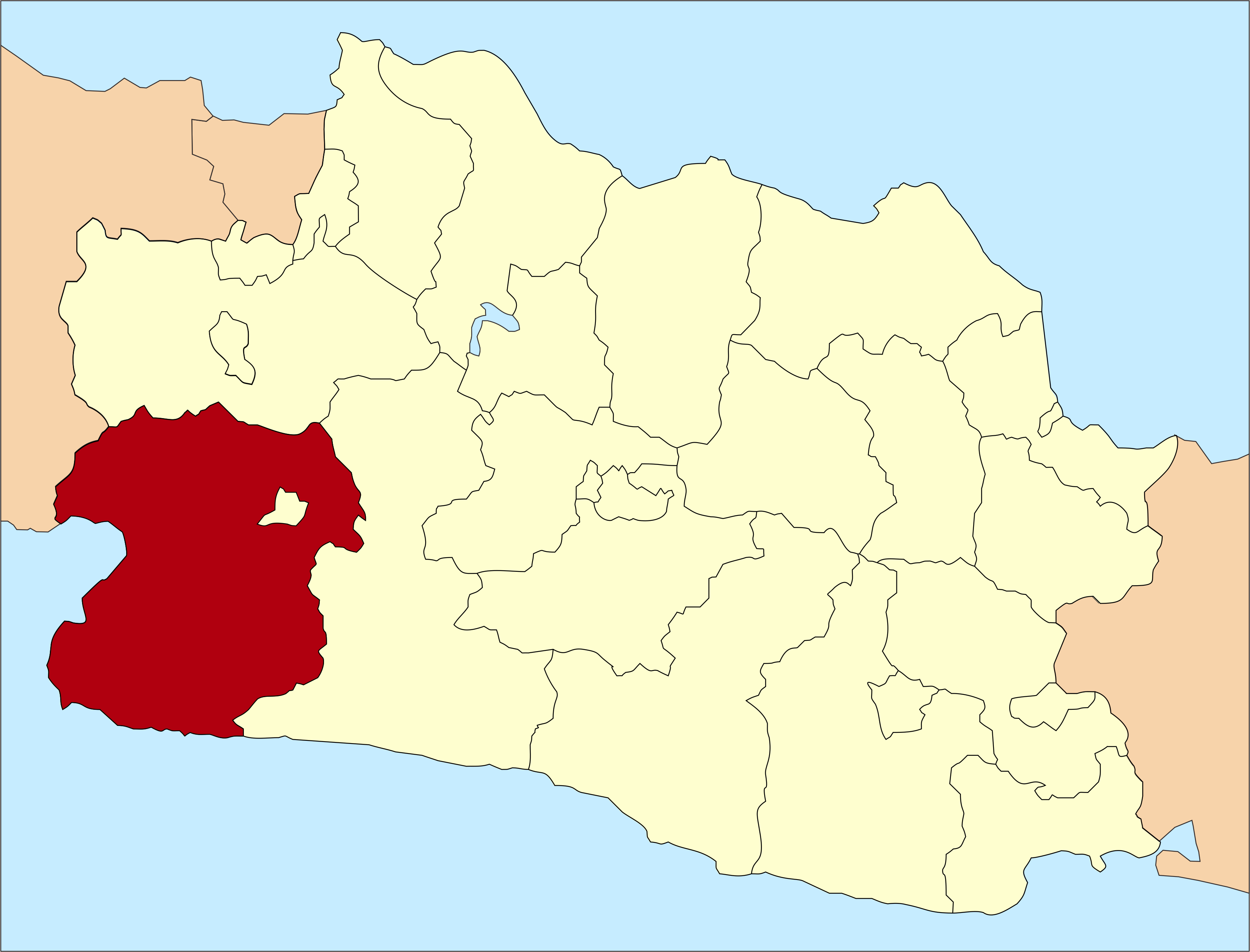 Sukabumi in West-Java