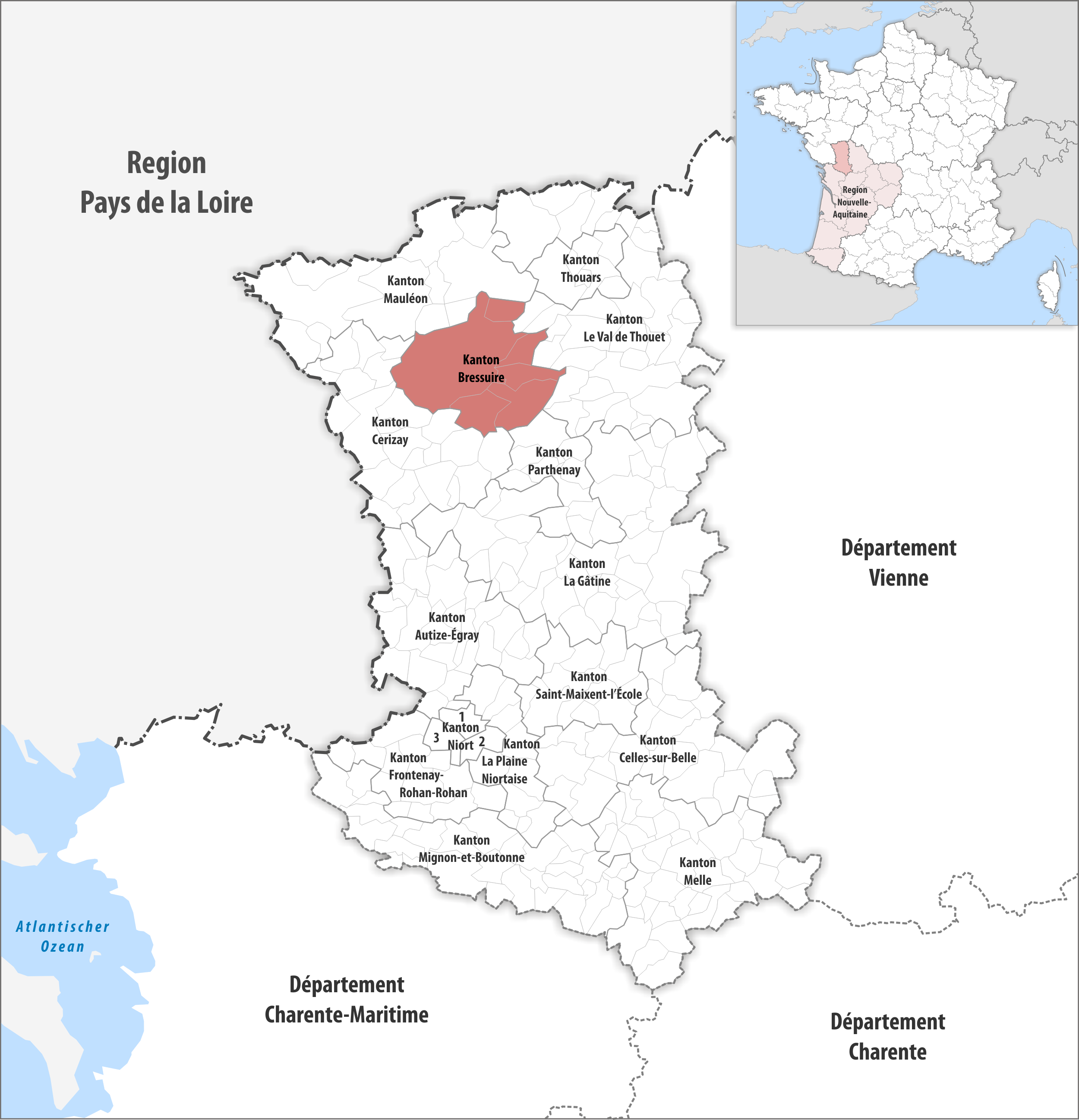 Datei:Locator map of Kanton Bressuire 2018.png – Wikipedia