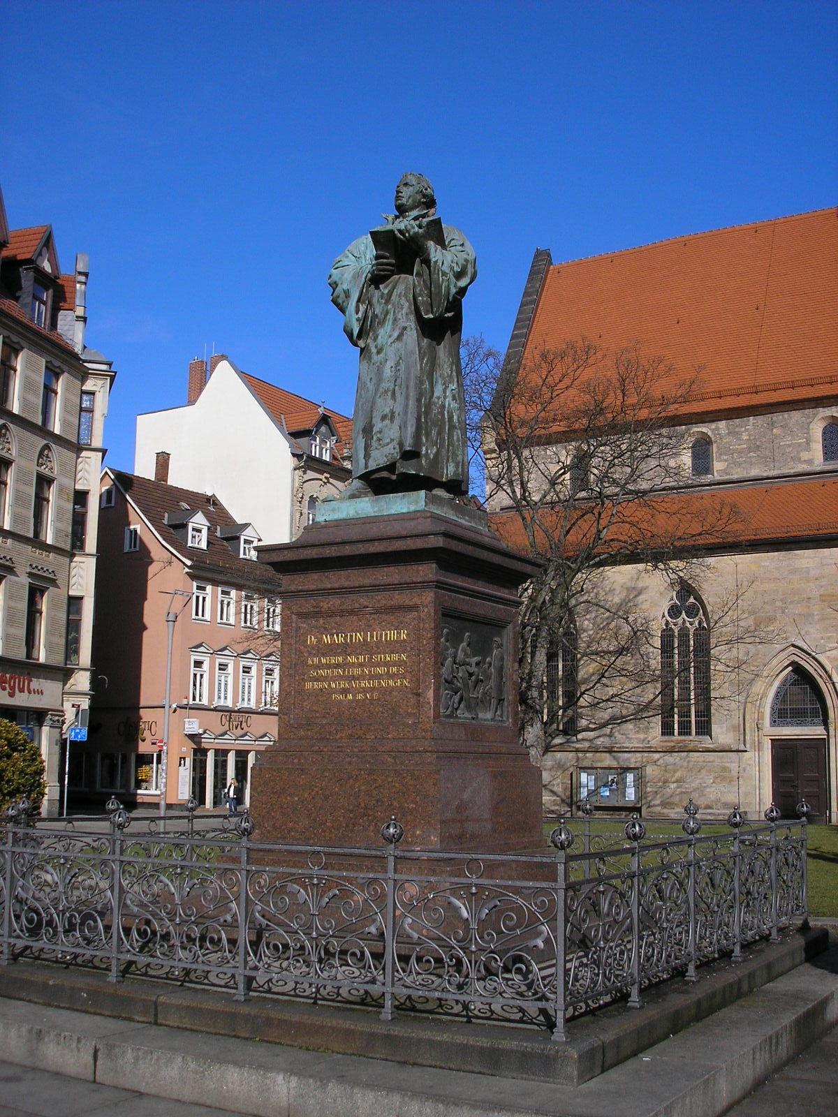 lutherdenkmal  erfurt